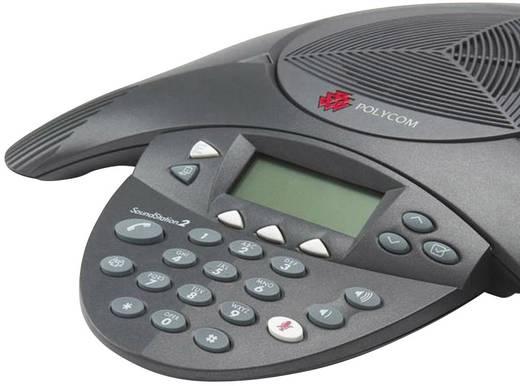 Konferenztelefon VoIP Polycom SoundStation2 EX Schwarz