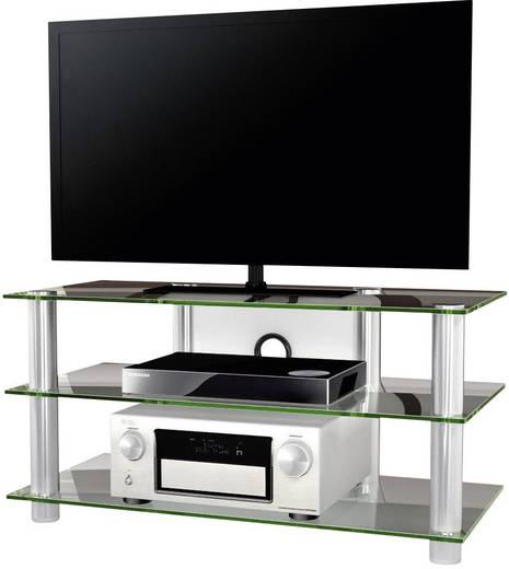 vcm tv m bel netasa silber transparent matt kaufen. Black Bedroom Furniture Sets. Home Design Ideas