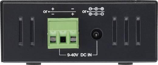 4 Port USB 3.0-Hub für industrielle Anwendungen, zur Wandmontage Renkforce Schwarz