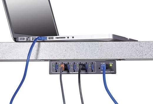 Renkforce 7 Port USB 3.0-Hub für industrielle Anwendungen ...