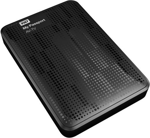 Externe Festplatte 6.35 cm (2.5 Zoll) 1 TB Western Digital My Passport® AV-TV Schwarz USB 3.0
