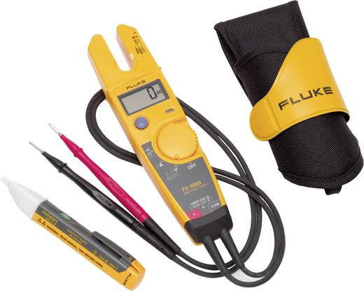 Fluke 1AC-E4 KIT Zweipoliger Spannungsprüfer CAT III 1000 V LCD, Akustik DAkkS