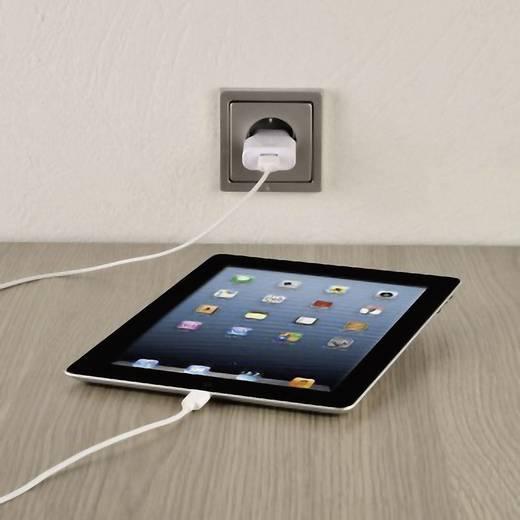 iPod/iPhone/iPad Datenkabel [1x USB 2.0 Stecker A - 1x Apple Dock-Stecker Lightning] 1.5 m Weiß Hama
