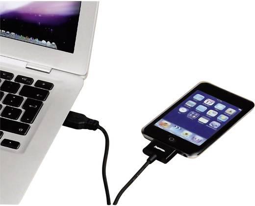ipad iphone ipod datenkabel ladekabel 1x usb 2 0 stecker a 1x apple dock stecker 30pol. Black Bedroom Furniture Sets. Home Design Ideas