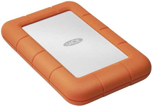 Externe Festplatte 6.35 cm (2.5 Zoll) 500 GB LaCie Rugged Mini (7200) Silber, Orange USB 3.0