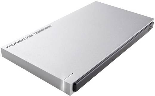 Externe Festplatte 6.35 cm (2.5 Zoll) 500 GB LaCie Porsche Design Slim Silber USB 3.0