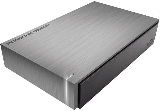 Externe Festplatte 8.9 cm (3.5 Zoll) 3 TB LaCie Porsche Design Grau USB 3.0 Software-Verschlüsselung