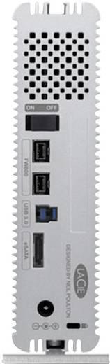 Externe Festplatte 8.9 cm (3.5 Zoll) 3 TB LaCie d2 Quadra Silber USB 3.0, FireWire 800, eSATA