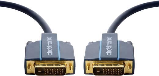 DVI Anschlusskabel [1x DVI-Stecker 24+1pol. - 1x DVI-Stecker 24+1pol.] 20 m Blau clicktronic