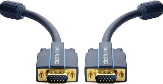 VGA Anschlusskabel [1x VGA-Stecker - 1x VGA-Stecker] 20 m Blau clicktronic