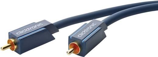 Cinch-Digital Digital-Audio Anschlusskabel [1x Cinch-Stecker - 1x Cinch-Stecker] 5 m Blau clicktronic