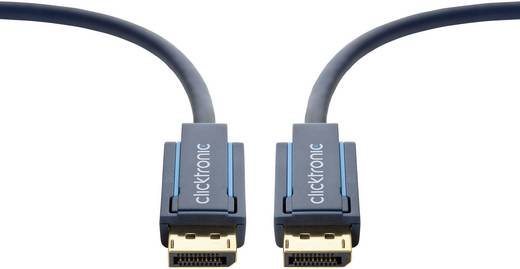DisplayPort Anschlusskabel [1x DisplayPort Stecker - 1x DisplayPort Stecker] 15 m Blau clicktronic