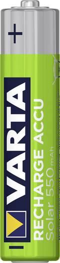 Micro (AAA)-Akku NiMH Varta Solar HR03 550 mAh 1.2 V 2 St.