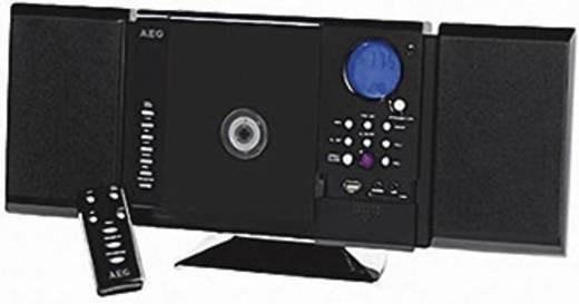 Stereoanlage AEG MC 4421 N CD, MW, UKW, USB, SD, 2 x 5 W Schwarz