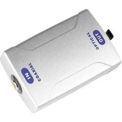Audio konvertor cinch zásuvka ⇔ Toslink zásuvka (ODT) Hama 42906 00042906