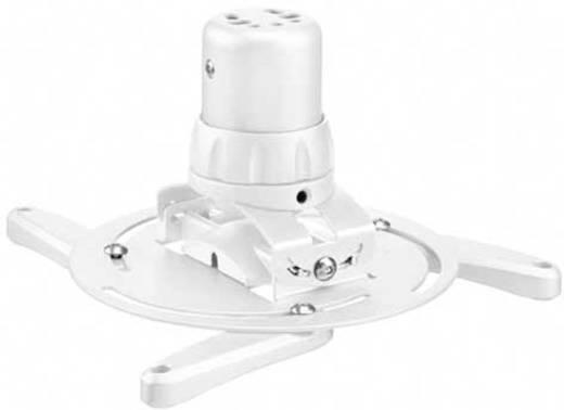 Beamer-Deckenhalterung Neigbar, Drehbar Boden-/Deckenabstand (max.): 14.4 cm Vogel´s PPC 1500 Weiß