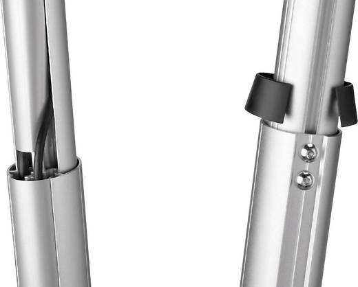 Beamer-Deckenhalterung Neigbar, Drehbar Boden-/Deckenabstand (max.): 55 cm Vogel´s PPC 1540 Silber