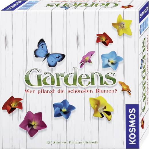 Familienspiel Kosmos Gardens 692193 ab 8 Jahre