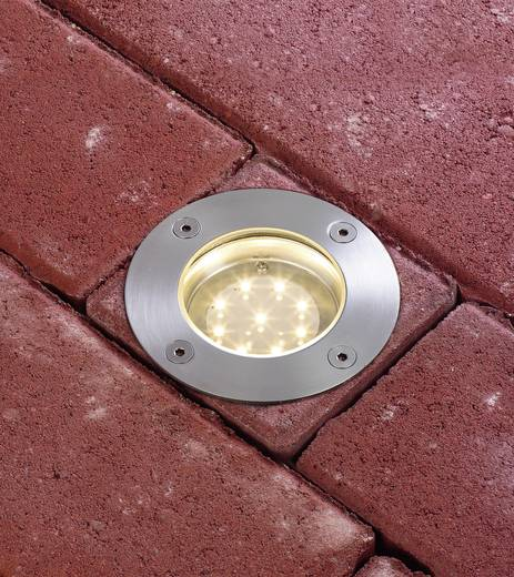 LED-Außeneinbauleuchte 3.6 W Paulmann 93789 Silber-Grau