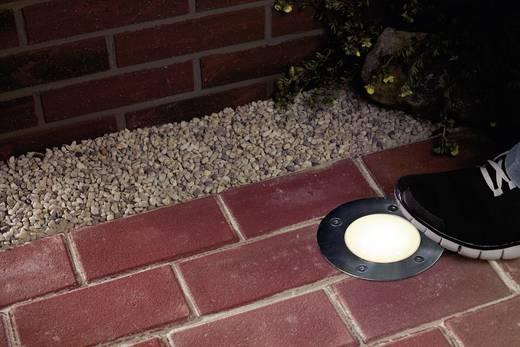 LED-Außeneinbauleuchte 1.2 W Warm-Weiß Paulmann 93788 Silber-Grau