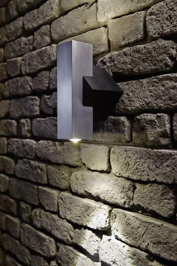 LED-Außenwandleuchte 2 W Warm-Weiß Paulmann Flame 93778 Aluminium (gebürstet)