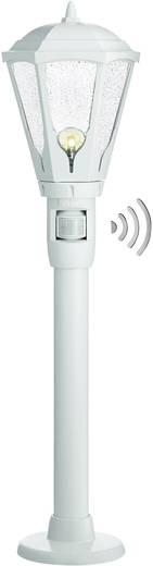 Außenstandleuchte mit Bewegungsmelder Energiesparlampe, Glühlampe, Halogen, LED E27 100 W Steinel GL 16 S 617110 Weiß