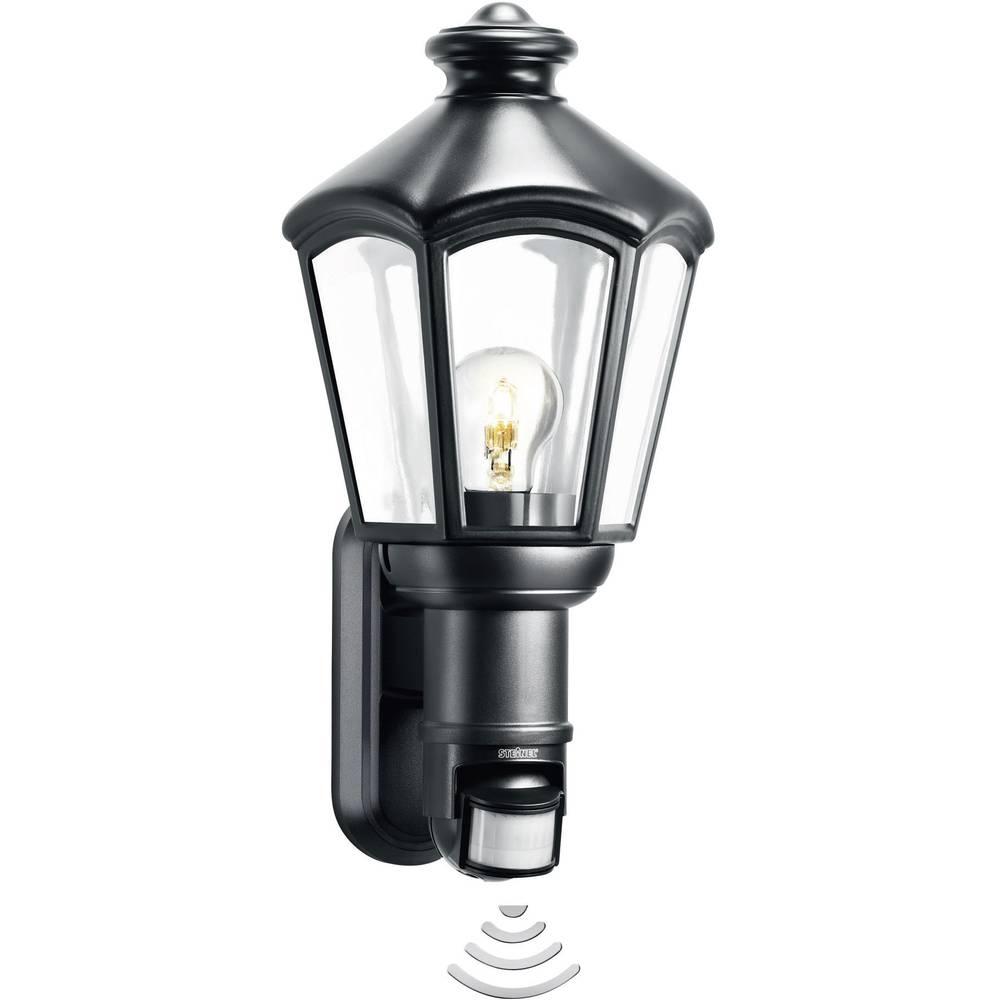 steinel l 562 s 634612 au enwandleuchte mit bewegungsmelder energiesparlampe led e27 60 w. Black Bedroom Furniture Sets. Home Design Ideas