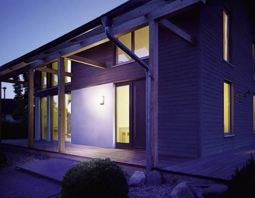 Außenwandleuchte mit Bewegungsmelder LED, Halogen, Glühlampe, Energiesparlampe, LED E27 100 W Steinel L867 S 642518 Edel