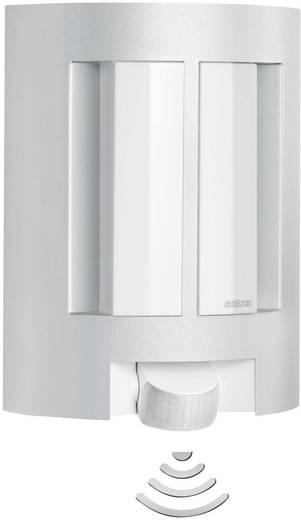 Außenwandleuchte mit Bewegungsmelder Energiesparlampe, LED E27 60 W Steinel L 11 657710 Aluminium