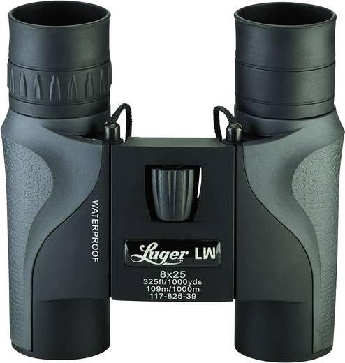 Fernglas Luger LW 8 x 25 mm Schwarz