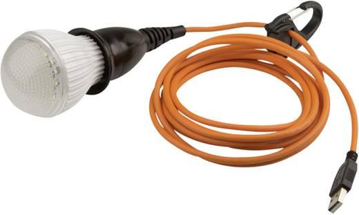 LED Camping-Leuchte Solio ALVA über USB 102 g Schwarz, Orange S332-AF2RW