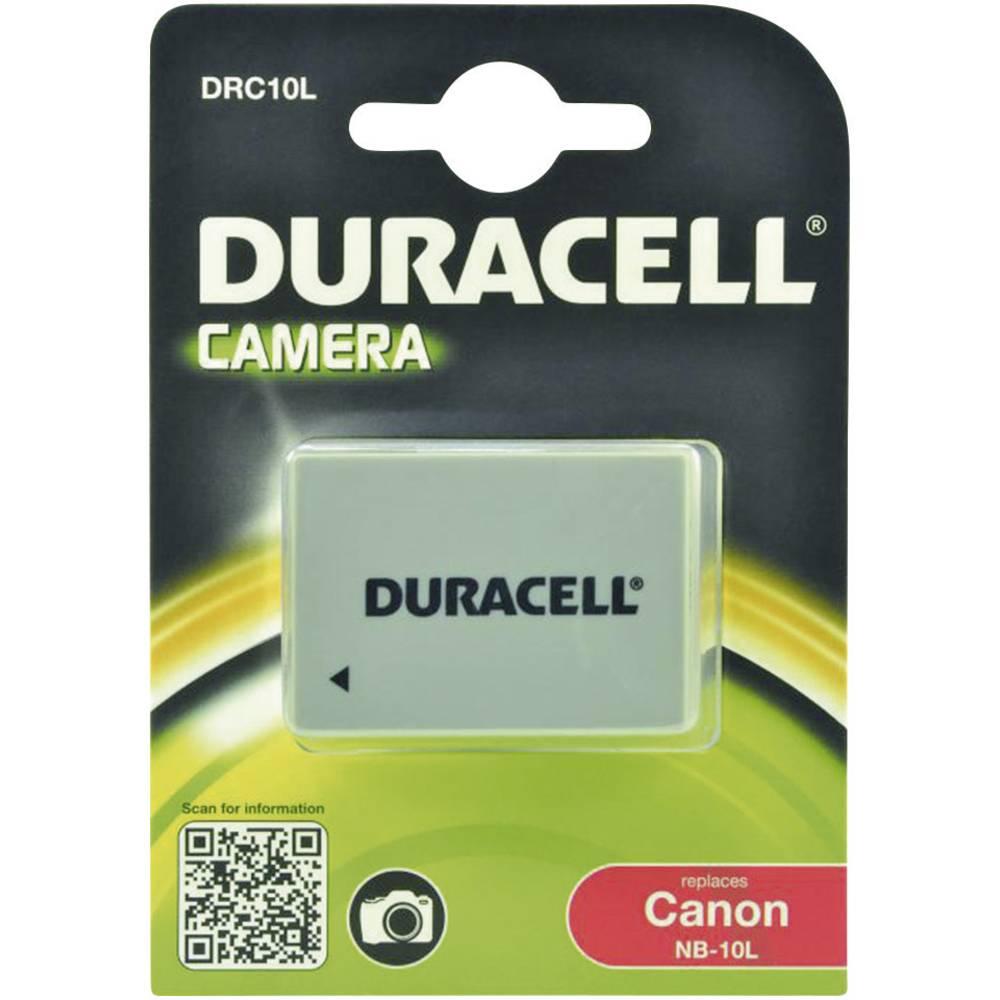 Duracell NB-10L Camera-accu Vervangt originele accu NB-10L 7.4 V 820 mAh