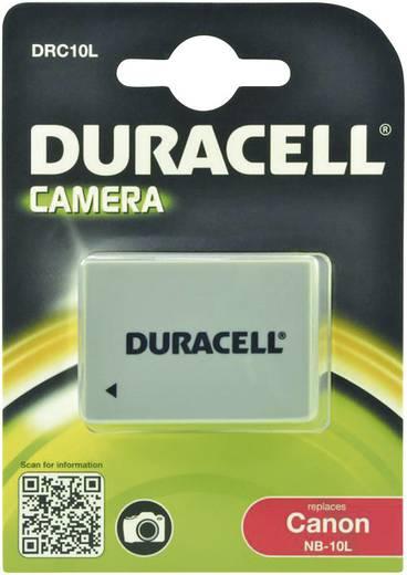Kamera-Akku Duracell ersetzt Original-Akku NB-10L 7.4 V 820 mAh
