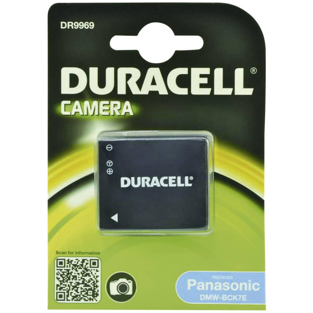 Duracell DMW-BCK7 Camera-accu Vervangt originele accu DMW-BCK7E 3.6 V 630 mAh
