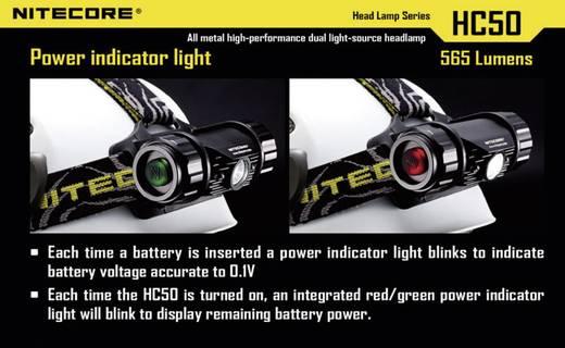 LED Stirnlampe NiteCore Kopflampe HC50 batteriebetrieben 565 lm 400 h HC50