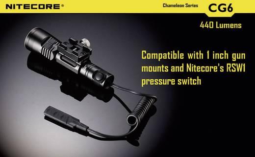 LED Taschenlampe NiteCore CG6 Chameleon batteriebetrieben 440 lm 400 h 138 g