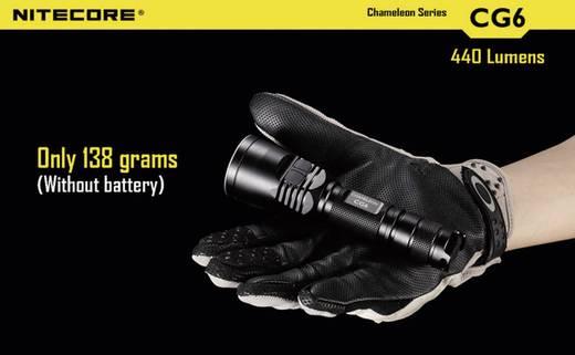 LED Taschenlampe NiteCore CG6 Cameleon batteriebetrieben 440 lm 400 h 138 g