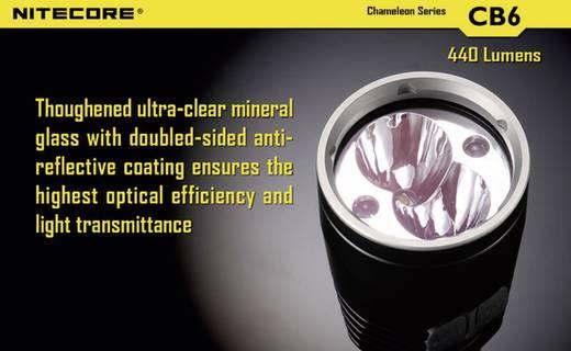 LED Taschenlampe NiteCore CB6 Cameleon batteriebetrieben 440 lm 400 h 138 g