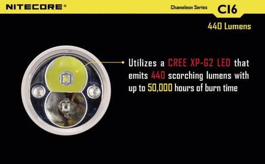 LED, Infrarot-LED Taschenlampe NiteCore CI6 Cameleon batteriebetrieben 440 lm 400 h 138 g
