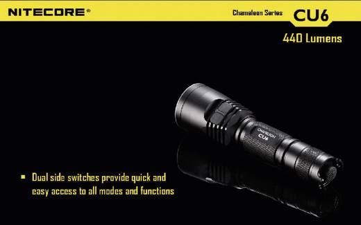 LED Taschenlampe NiteCore CU6 Chameleon batteriebetrieben 440 lm 400 h 138 g