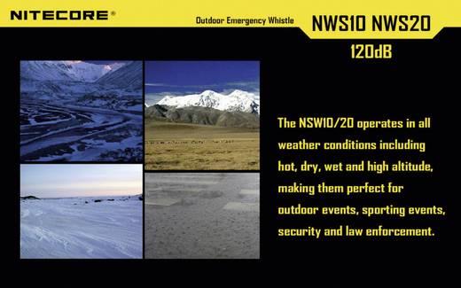 Signalpfeife Titan 120 dB NiteCore Notsignalpfeife NWS20 NWS20