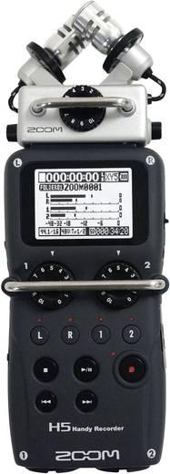 Mobiler Audio-Recorder Zoom H5 Schwarz