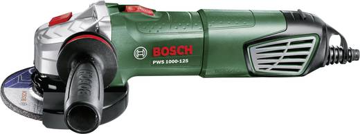 Winkelschleifer 125 mm inkl. Koffer 1001 W Bosch Home and Garden PWS 1000-125 06033A2600