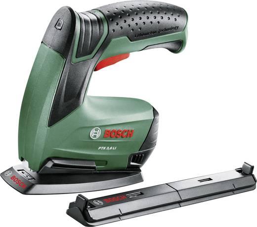 Bosch Home and Garden PTK 3,6 LI Office Set Akkutacker Klammerntyp Typ 53 Klammernlänge 4 - 10 mm