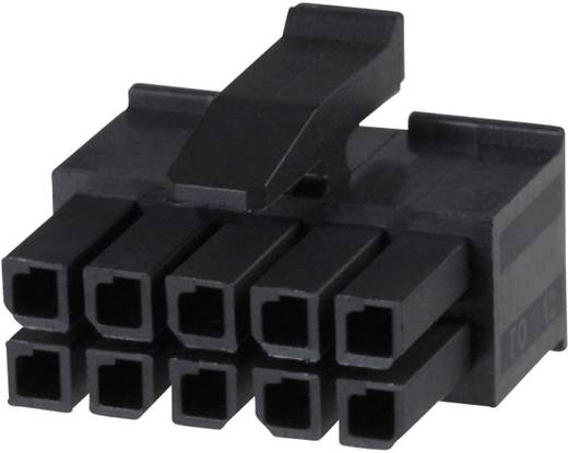 TE Connectivity Buchsengehäuse-Kabel Micro-MATE-N-LOK Polzahl Gesamt 4 Rastermaß: 3 mm 794617-4 1 St.