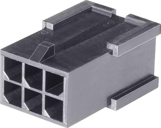 Stiftgehäuse-Kabel Micro-MATE-N-LOK Polzahl Gesamt 6 TE Connectivity 794616-6 Rastermaß: 3 mm 1 St.