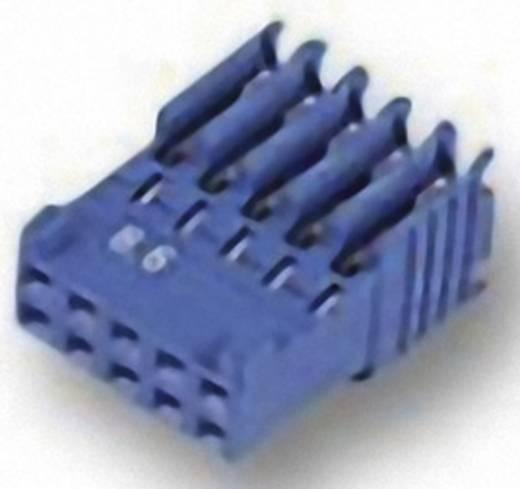 Buchsengehäuse-Kabel AMPMODU HE14 Polzahl Gesamt 16 TE Connectivity 281792-8 Rastermaß: 2.54 mm 1 St.