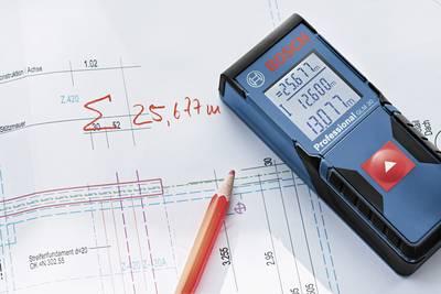 Bosch Professional GLM 30 Laser range finder Reading range (max