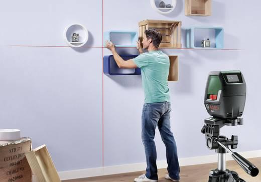Kreuzlinienlaser selbstnivellierend Bosch Home and Garden PLL2 Reichweite (max.): 10 m Kalibriert nach: ISO