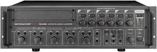 Monacor PA-6240 6 Zonen ELA-Mono Mischverstärker